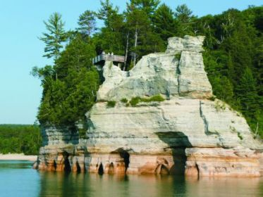 Geology And Landscape Of Michigan S Pictured Rocks