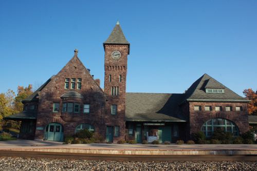Michigan S Historic Railroad Stations Wayne State