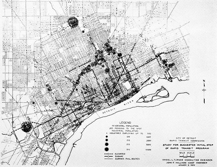 Mapping Detroit | Wayne State University Press on