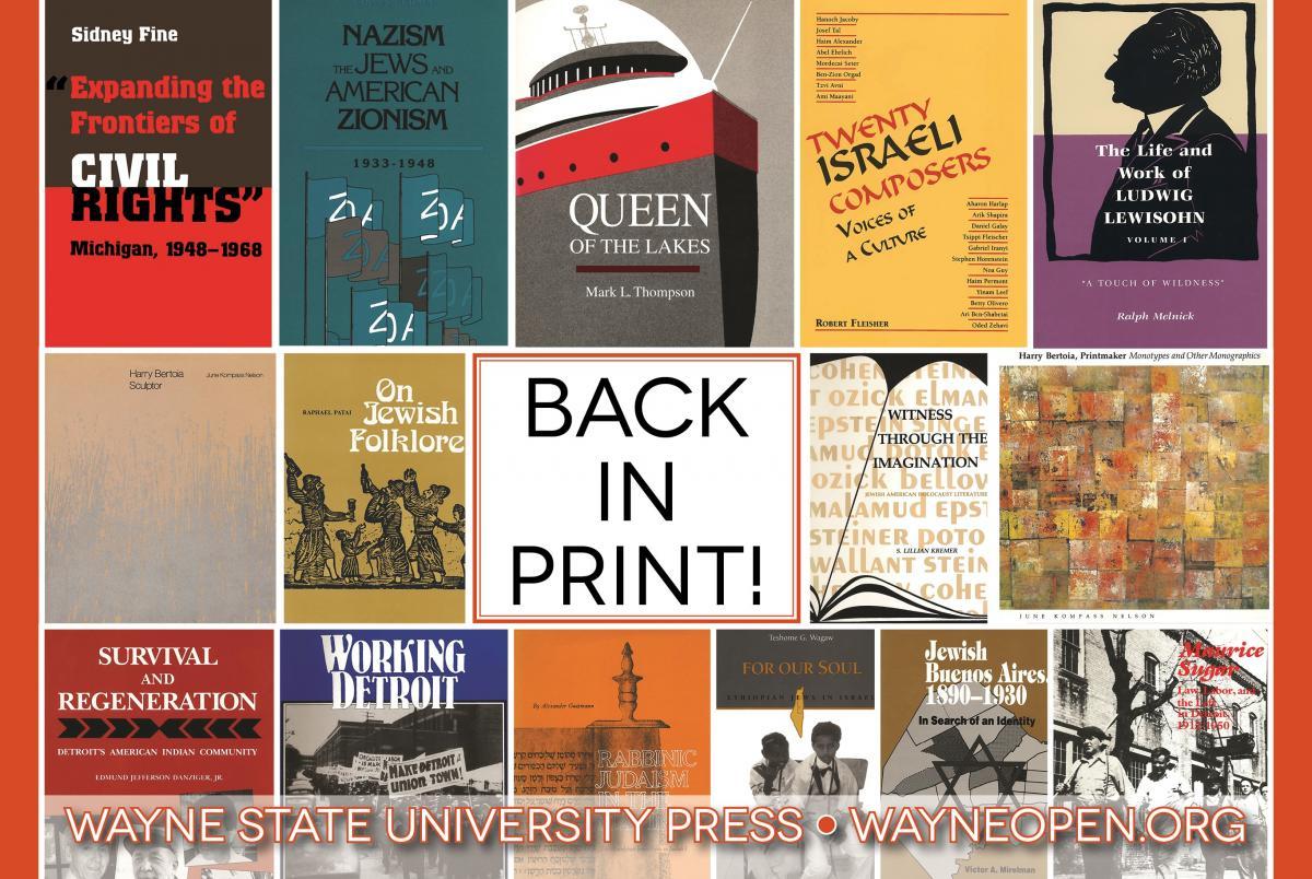 open access books wayne state university press