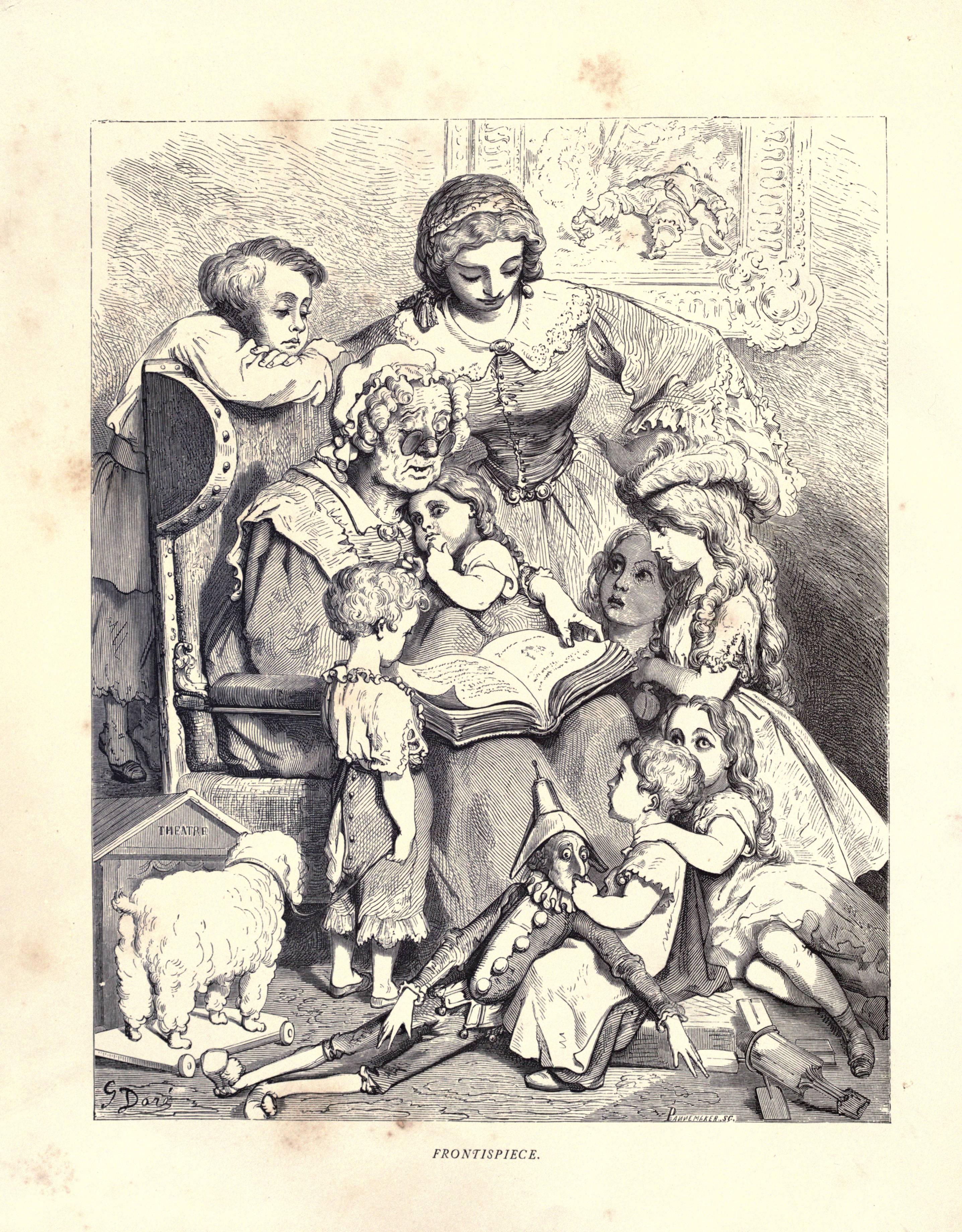 Uncategorized Perrault Fairy Tales mother goose refigured wayne state university press book images