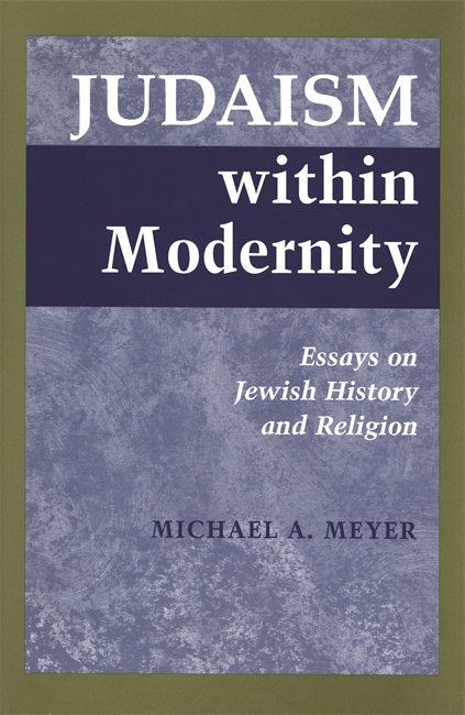 essay history jewish judaism modernity religion within